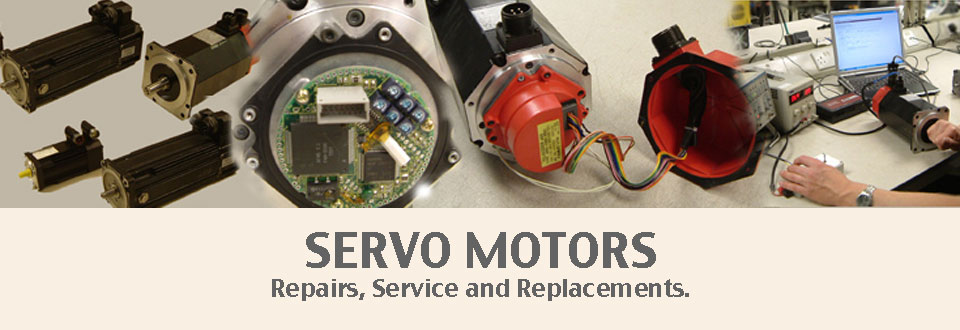 Servo Motors Repairs & Service Replacements