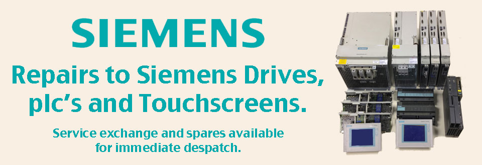 Repairs of Siemens Drives,PLC's & Touchscreens
